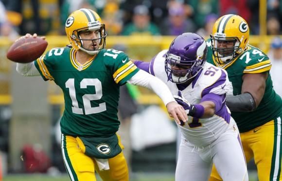 Los Packers derrotaron 23-14 a los Vikings en Lambeau Field esta temporada. Este sábado se miden en el mismo estadio por el paso a la segunda ronda de los playoffs.