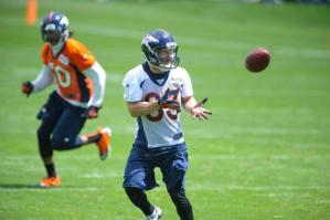El receptor Wes Welker, ex Patriots, dejará de recibir los pases de Tom Brady y ahora será uno de los principales objetivos de Peyton Manning.