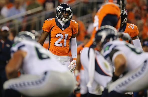 Aqib Talib llegó de New England para reforzar una siempre criticada defensa de los Broncos.