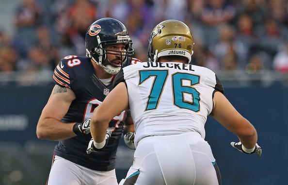 Jared Allen llegó desde Minnesota para refozar a la defensa de los Bears, que se vio opaca en 2013.