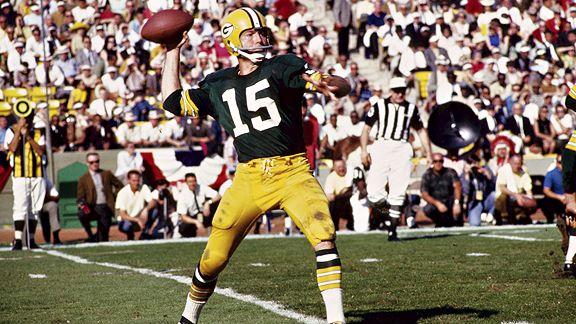 Bart Starr. QB ganador de los dos primeros Super Bowls.