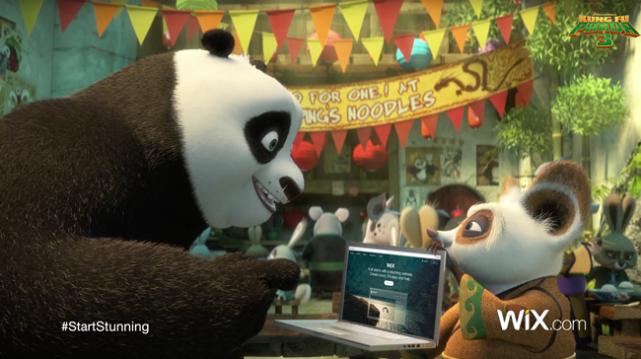 Po de Kung Fu Panda es siempre una ventaja para cualquier marca.