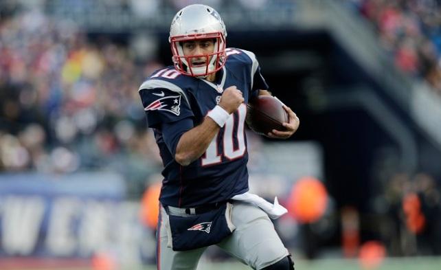 Jimmy Garoppolo será el titular en los primeros cuatro partidos de los Patriots.