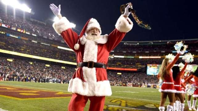 La NFL jugará 12 partidos el 24 de diciembre y dos en Navidad.