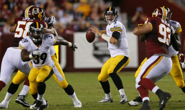 Steelers vs Redskins será el primer Monday Night Football de la temporada.