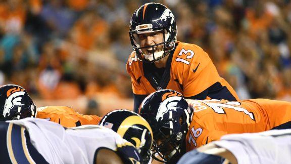 Sorpresivamente, Trevor Siemian comenzará la temporada por los Broncos. El tema es por cuánto tiempo.